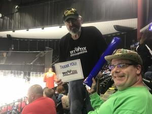 Nathan attended Jacksonville Icemen vs. Florida Everblades - ECHL on Apr 6th 2018 via VetTix