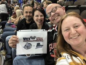 Rebecca attended Jacksonville Icemen vs. Florida Everblades - ECHL on Apr 6th 2018 via VetTix