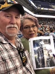 Roger attended Arizona Rattlers vs Nebraska Danger - IFL on Mar 24th 2018 via VetTix