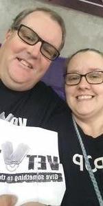 Mick attended Arizona Rattlers vs Nebraska Danger - IFL on Mar 24th 2018 via VetTix