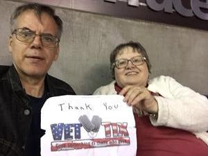 Richard attended Arizona Rattlers vs Nebraska Danger - IFL on Mar 24th 2018 via VetTix