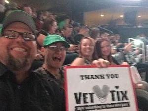 Edward attended Arizona Rattlers vs Nebraska Danger - IFL on Mar 24th 2018 via VetTix