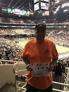 gary attended Arizona Rattlers vs Nebraska Danger - IFL on Mar 24th 2018 via VetTix