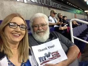 James attended Arizona Rattlers vs Nebraska Danger - IFL on Mar 24th 2018 via VetTix