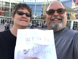 Trevor attended Arizona Rattlers vs Nebraska Danger - IFL on Mar 24th 2018 via VetTix
