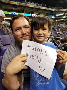 Christopher attended Arizona Rattlers vs Nebraska Danger - IFL on Mar 24th 2018 via VetTix