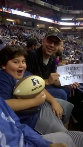 Gregory attended Arizona Rattlers vs Nebraska Danger - IFL on Mar 24th 2018 via VetTix
