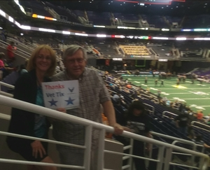 Richard attended Arizona Rattlers vs Nebraska Danger - IFL on Mar 24th 2018 via VetTix