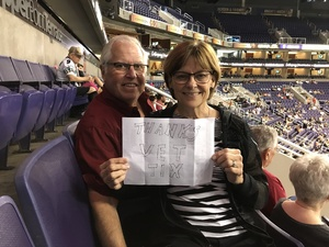 Sharon attended Arizona Rattlers vs Nebraska Danger - IFL on Mar 24th 2018 via VetTix