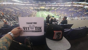 Jeremiah attended Arizona Rattlers vs Nebraska Danger - IFL on Mar 24th 2018 via VetTix