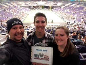 Rick attended Arizona Rattlers vs Nebraska Danger - IFL on Mar 24th 2018 via VetTix