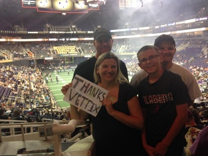 Paul attended Arizona Rattlers vs Nebraska Danger - IFL on Mar 24th 2018 via VetTix