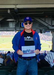 Paul attended Chicago Cubs vs. Milwaukee Brewers- MLB on Apr 29th 2018 via VetTix