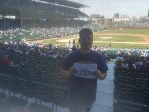 PATRICK attended Chicago Cubs vs. Colorado Rockies - MLB on May 2nd 2018 via VetTix