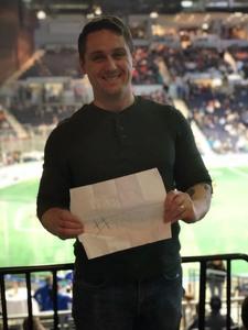Mark attended Rochester Knighthawks vs. New England Blackwolves - National Lacrosse League on Apr 21st 2018 via VetTix