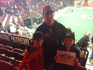 Click To Read More Feedback from New England Blackwolves vs. Calgary Roughnecks - National Lacrosse League