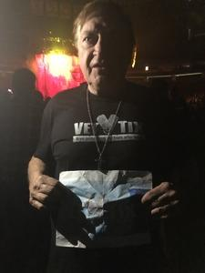 Ted attended Judas Priest Firepower Tour 2018 on Mar 20th 2018 via VetTix