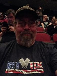 Robert attended Judas Priest Firepower Tour 2018 on Mar 20th 2018 via VetTix