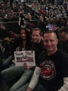 Jeremy B. attended Judas Priest Firepower Tour 2018 on Mar 20th 2018 via VetTix