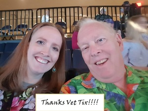 mark attended Jimmy Buffett Live on Mar 31st 2018 via VetTix