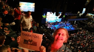 Pamela attended Jimmy Buffett Live on Mar 31st 2018 via VetTix
