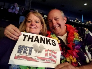 Dean attended Jimmy Buffett Live on Mar 31st 2018 via VetTix