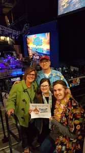 Frank Miller attended Jimmy Buffett Live on Mar 31st 2018 via VetTix