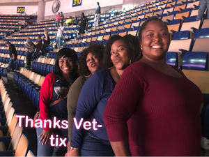 Precious attended New Orleans Pelicans vs. Los Angeles Lakers - NBA on Mar 22nd 2018 via VetTix