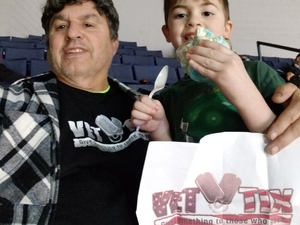 Frank attended Rochester Americans vs. Syracuse Crunch - AHL on Apr 11th 2018 via VetTix