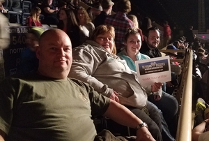 Joel Clifton attended Cole Swindell Special Guests: Chris Janson and Lauren Alaina (american Idol) on Mar 23rd 2018 via VetTix