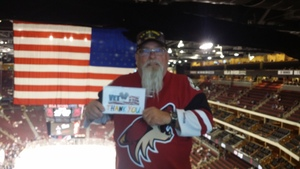 Noel attended Arizona Coyotes vs. St. Louis Blues - NHL on Mar 31st 2018 via VetTix