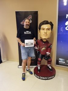 Click To Read More Feedback from Arizona Coyotes vs. St. Louis Blues - NHL