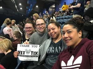Steven attended Lorde Melodrama Tour With Run the Jewels and Mitski on Mar 27th 2018 via VetTix
