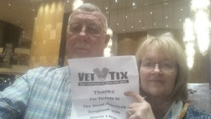 Ronald attended The Great American Songbook With Storm Large on Mar 23rd 2018 via VetTix