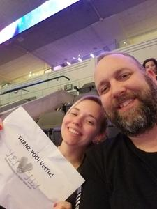 James attended Bon Jovi - This House is not for Sale - Tour on Mar 26th 2018 via VetTix
