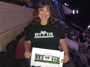 Leticia attended Bon Jovi - This House is not for Sale - Tour on Mar 26th 2018 via VetTix