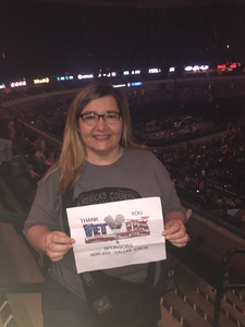 stacie attended Bon Jovi - This House is not for Sale - Tour on Mar 26th 2018 via VetTix