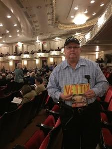 Ernest attended Tchaikovsky Violin Concerto - Presented by the Pittsburgh Symphony on Apr 22nd 2018 via VetTix
