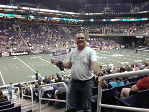Mike  Jr attended Arizona Rattlers vs. Cedar Rapids Titans - IFL on Mar 31st 2018 via VetTix
