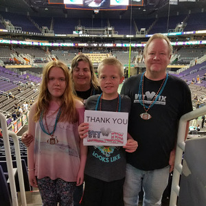 Bruce attended Arizona Rattlers vs. Cedar Rapids Titans - IFL on Mar 31st 2018 via VetTix