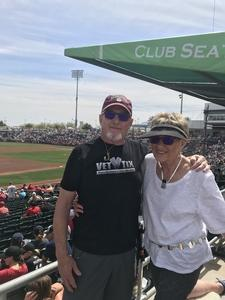 Harland attended Cleveland Indians vs. Cincinnati Reds - MLB Spring Training on Mar 25th 2018 via VetTix