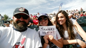 Click To Read More Feedback from Cleveland Indians vs. Cincinnati Reds - MLB Spring Training