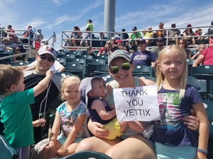 Jhared attended Cleveland Indians vs. Cincinnati Reds - MLB Spring Training on Mar 25th 2018 via VetTix