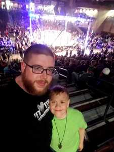 Joe attended Legacy Fighting Alliance 37 - Live Mixed Martial Arts on Apr 20th 2018 via VetTix