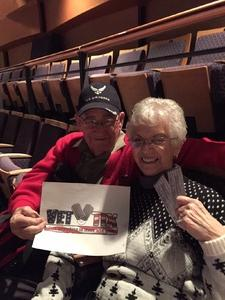 Muriel attended The Illusionists Present: Adam Trent on Mar 25th 2018 via VetTix