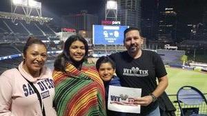 Sergeant Puebla attended San Diego Padres vs. Colorado Rockies - MLB on Apr 2nd 2018 via VetTix
