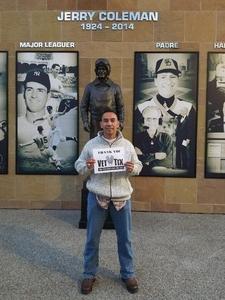 Alejandro attended San Diego Padres vs. Colorado Rockies - MLB on Apr 3rd 2018 via VetTix