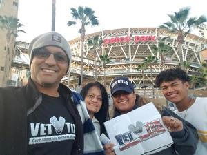 Roberto attended San Diego Padres vs. Colorado Rockies - MLB on Apr 3rd 2018 via VetTix