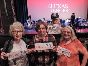 Click To Read More Feedback from The Texas Tenors - Saturday Matinee