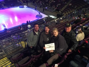 Bob attended Disney on Ice Frozen - Sunday Evening on Mar 25th 2018 via VetTix